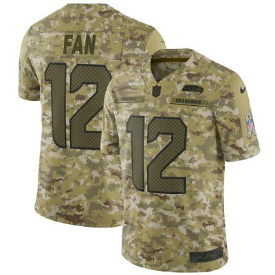 Nike Men s Salute To Service  12 Seattle Seahawks LIMITED Jersey - Size  Large 1929607c8