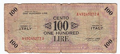 Military Currency, Italy, 100 Lire