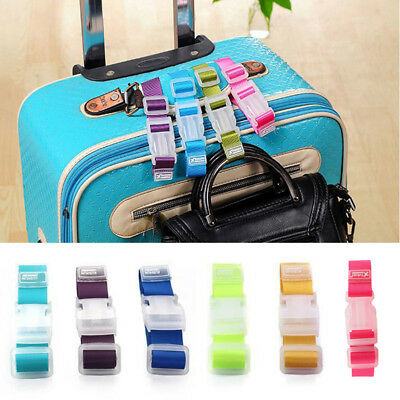 Adjustable Buckle Strap Travel Suitcase Luggage Strap Clip Protect Belt 1PC