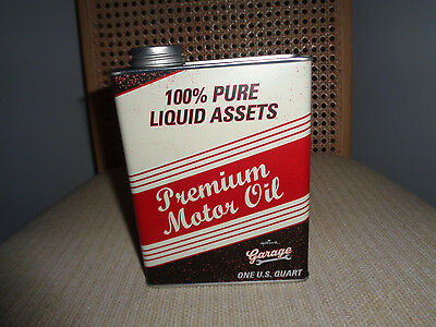 Oil Can Tin  Bank  Harley Garage  Motor  Oil Cans
