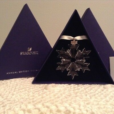 Swarovski Crystal 2018 Annual Edition Large Snowflake Ornament