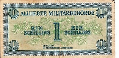 Currency Selection, Austria Military, 1 Schilling