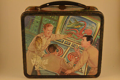 Vintage 1967 Voyage To The Bottom Of The Sea Aladdin Lunchbox Plus Thermos!