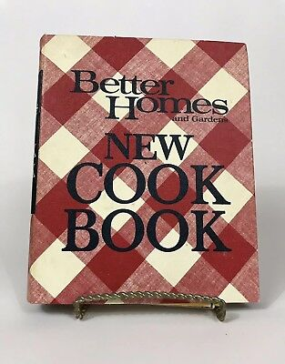 Vintage 1968 Better Homes and Gardens New Cook Book 5 Ring Binder