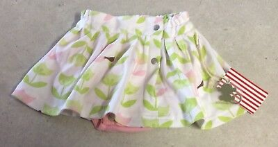 """NWT - 00 """" SOOKIbaby """" CUTE SKIRT WITH BUILT IN NAPPY COVER - ADORABLE"""