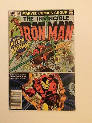 The Invincible Iron Man (#151 Oct 1981, Marvel)