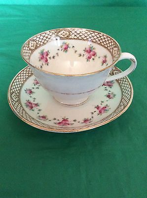 Crown Chelsea China England Cup & Saucer