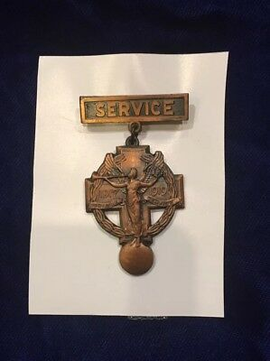 Dutchess County NY - WWI Local Service Medal presented to WWI veteran NEW YORK