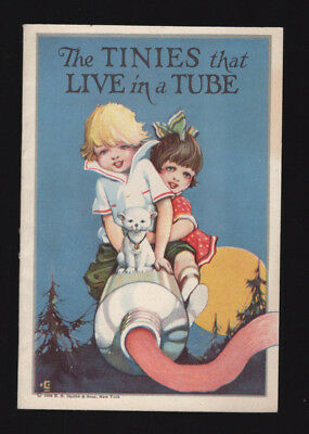 1924 SQUIBBS DENTAL CREAM TOOTHPASTE  Booklet - The Tinies That Live In A Tube