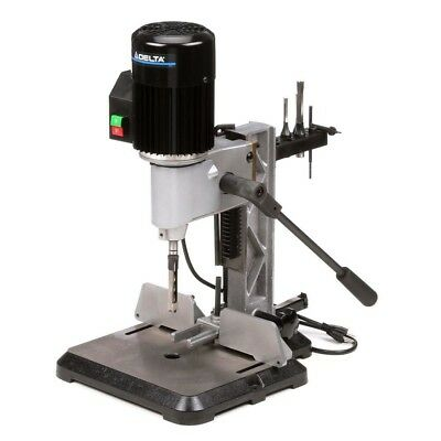 Delta Mortising Machine 1/2 HP 120V Bench Top Cast-Iron Gas-Filled Rotating Head
