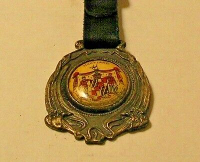 Rare Adv. S.goldheim & Sons Tailors Maryland Cellulod & Metal Watch Fob W/strap