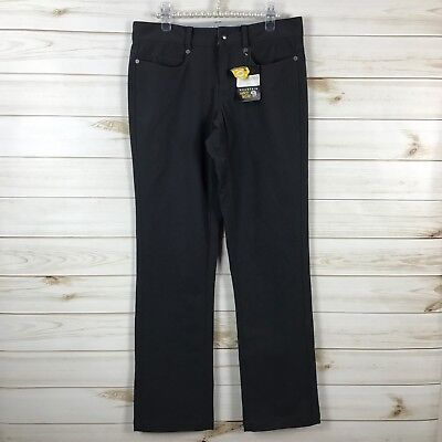 Mountain Hardware Dark Grey Sajama Gene Hiking Walking Stright Pants Sz 6 NWT