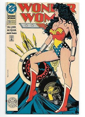 Wonder Woman #72 Classic Brian Bolland Cover! March 1993 DC