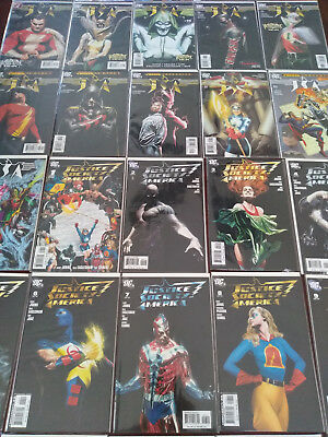 Justice Society of America JSA - LOT of 44 issues&specials Geoff Johns Alex Ross