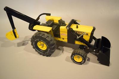 Vintage Mighty Tonka Trencher Backhoe Near Mint Condition