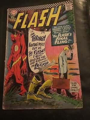 Comic The Flash #159 VG Condition