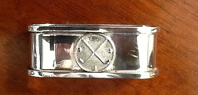 Antique Golfer's Silver-plated Napkin Ring
