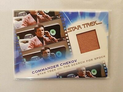Star Trek Complete Movies Costume  Mc13 Chekov Odds 1:12