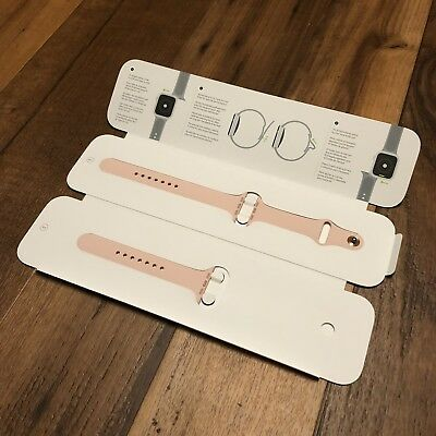 Apple - Sport Band for Apple Watch 44mm - Pink Sand - S/M M/L - (MTPM2AM)