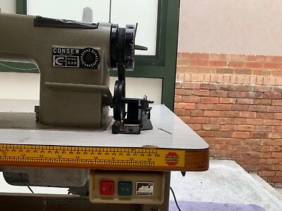 Consew industrial sewing machine, price negotiable.