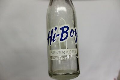 Hi-Boy Beverages Soda Bottle, San Jacinto Bottling Works, Houston, Texas