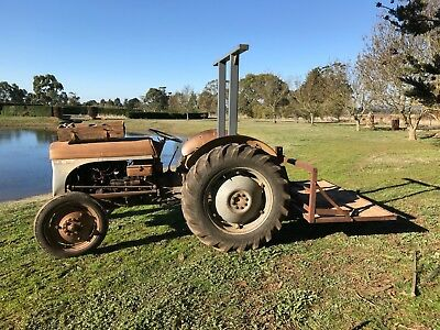 Grey Fergie TEA20. Iconic Tractor in good working order