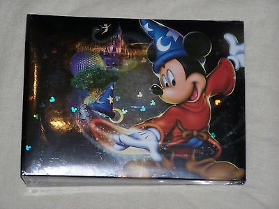 NEW Walt Disney World Four Parks One World Mickey Hologram photo album 50 pages