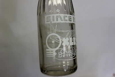 Oxley's Beverages Soda Bottle, Poteau, Oklahoma 1944