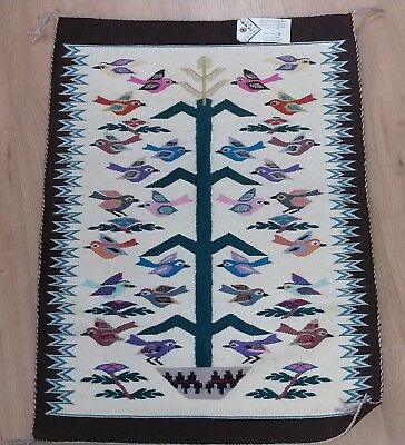 Navajo rug Birds Tree of Life