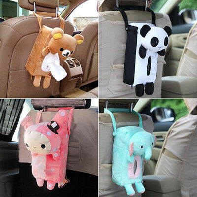Cute Tissue Box Home Car Rectangle Cover Holder Practical Convenient Perfect