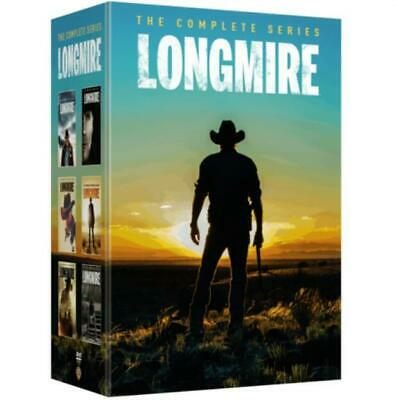 LONGMIRE Complete Series Collection Seasons 1-6 DVD Season 1 2 3 4 5 6 BOX SET