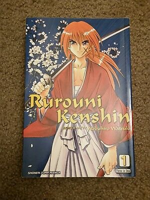Rurouni Kenshin - Volumes 1-3 (Three in One Book), 2008 - Shonen Jump Manga