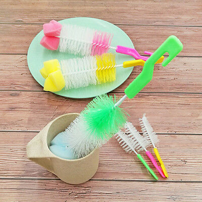 Baby Bottle Brush Cleaner Spout Cup Glass Teapot Washing Cleaning Tool Brush 0d