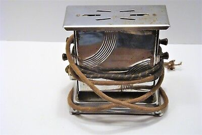 Vintage Sun Chief Toaster # 641 Series Art Deco Style - needs new plug
