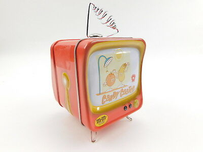 M & M's Tin Piggy Bank Cute TV