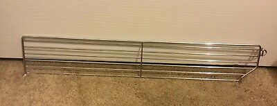 Lot of 10 Wire Shelf Divider Fence Fits Gondola Lozier Madix shelving,Size Below