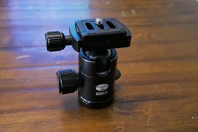 Sirui C-10x Ball Head with Quick Release Arca - panning knob.
