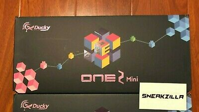 Ducky One 2 Mini RGB LED 60% Double Shot PBT Keyboard Cherry MX ALL Colors TFUE