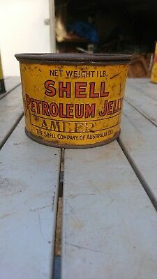 Shell Petroleum Jelly Tin