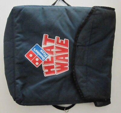 Domino's Pizza Bag Old Logo Heat Wave Carry Out Food Keep It Hot !FREE SHIPPING