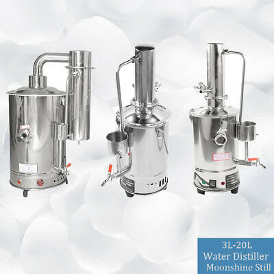 3L-20L  Medical/Home Stainless Pure Water Electric Distiller Moonshine Still