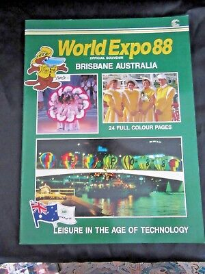EXPO 88  - Official SOUVENIR - 24 Pages of full colour -