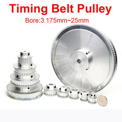 Timing Belt Pulley XL10T-XL30T Synchronous Wheel Selectable Bore For 3D Printer