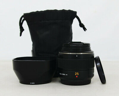 # Panasonic Lumix G 25mm f/1.4 Aspherical DG Lens + Filter 2464