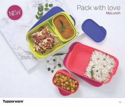 Tupperware My Lunch box 2 PC lunch box free shipping new