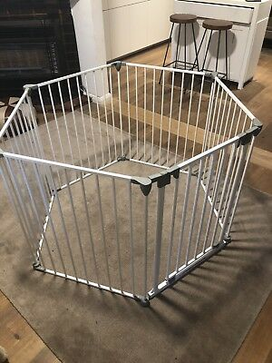 baby safety gates and pens white  Kmart playpen