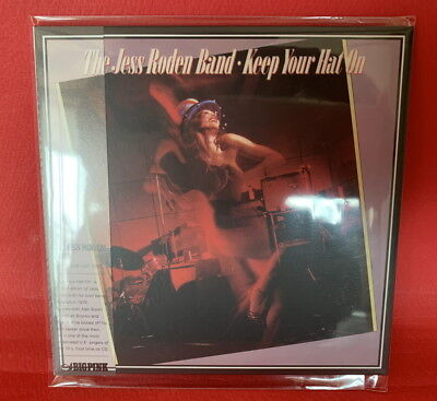 The Jess Roden Band-Keep Your Hat On MINI LP CD SEALED OBI Bronco The Alan Brown