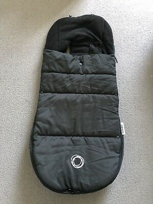 Bugaboo universal footmuff (Black) - VERY GOOD CONDITION