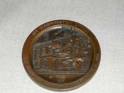 Vintage Paper Weight Coin National Paint Varnish Lacquer Association 1883 - 1940