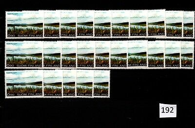 @ 25X Finland - Mnh - Europa Cept 1977 - Nature - Wholesale